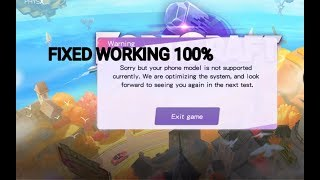 How to Fix Not Supported Device in Fortcraft