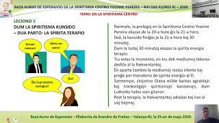 Curso Básico de Esperanto do CEYP - Lição 5
