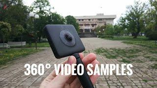 ✔ Xiaomi 360° Panoramic Camera   REAL 4K! video & 7K! photo samples   Walking in Bulgaria in 360°