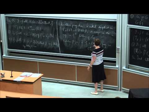 Cornelia Drutu: Kazhdan projections