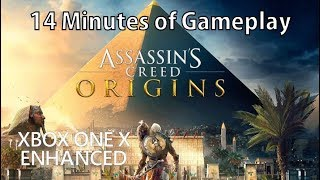 [4K] Assassin's Creed Origins gameplay on Xbox One X