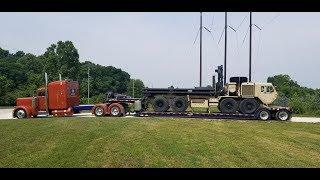 видео: Дальнобой США. Вновь военная техника. Беспорядок в армии.