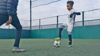 Most Beautiful Skills & Tricks by Kids in Futsal/Football #2