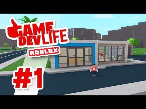 Game Dev Life #1 - MAKING MY OWN GAME (Roblox Game Dev Life)
