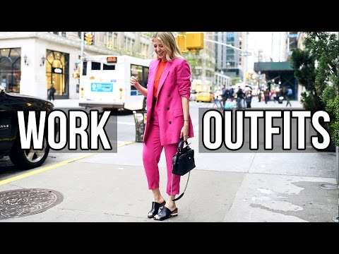 Work Outfit Ideas + Style Tips!