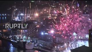 Russia: Vladivostok becomes first city in Russia to mark Victory Day with fireworks