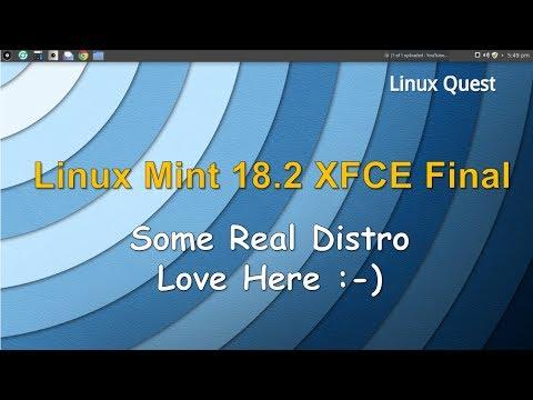 Linux Mint 18.2 XFCE - Final Release