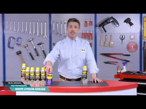 WD-40® Specialist™ White Lithium Grease