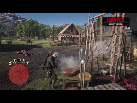 killing spree - Red Dead Redemption 2