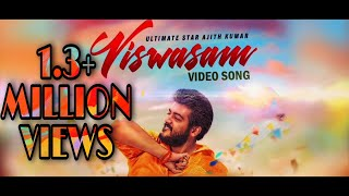 Viswasam song celebration by THALA FANS  (music by sathamraja)  விஸ்வாசம் பாடல்