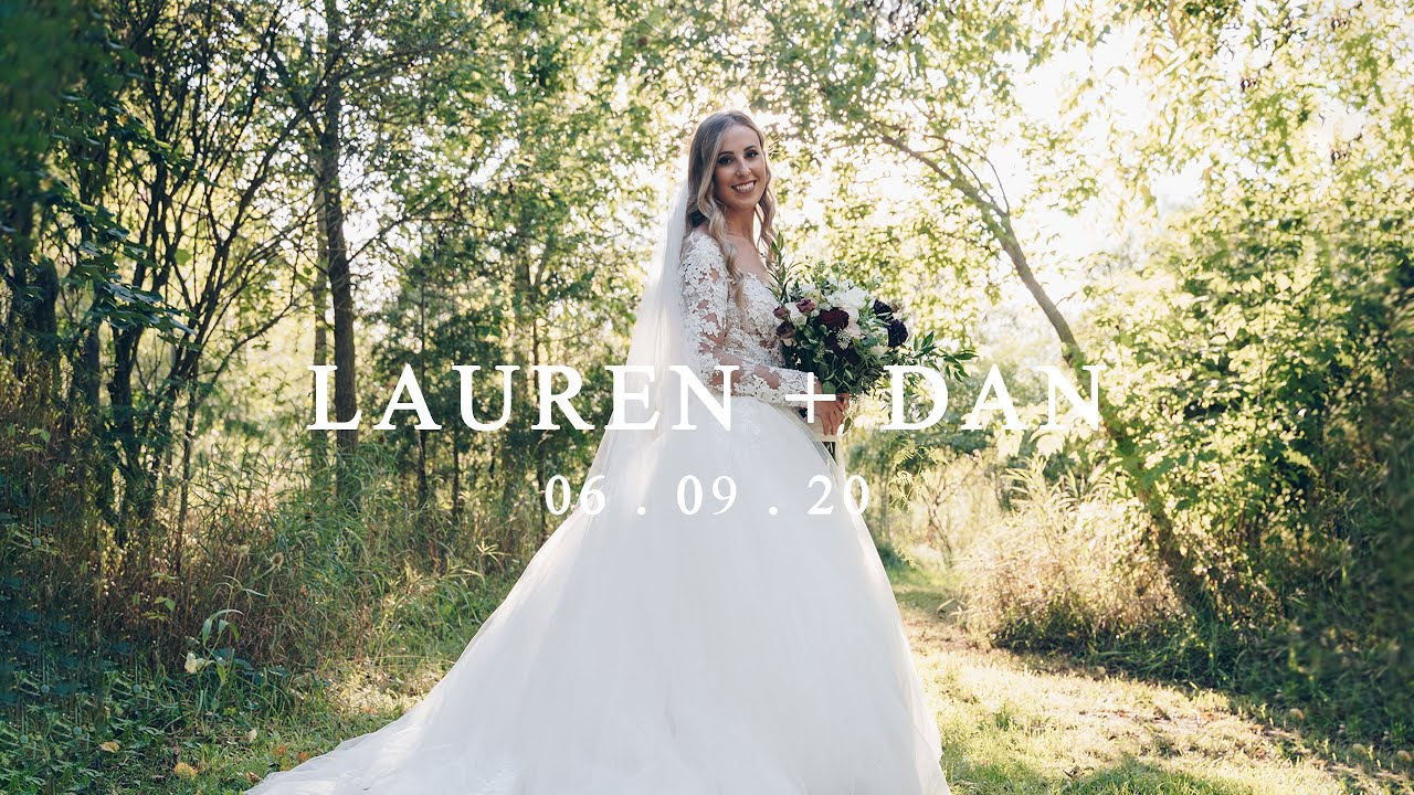 Lauren & Dan - Riverside wedding at Cellar 52, St. Jacobs, Ontario