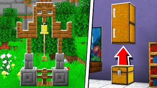 5 Things You Should Know How to Build in Minecraft! (NO MODS!)