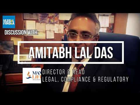 Amitabh Lal Das, Director & Head - Legal, Compliance & Regulatory | Max Life Insurance [INDIA]