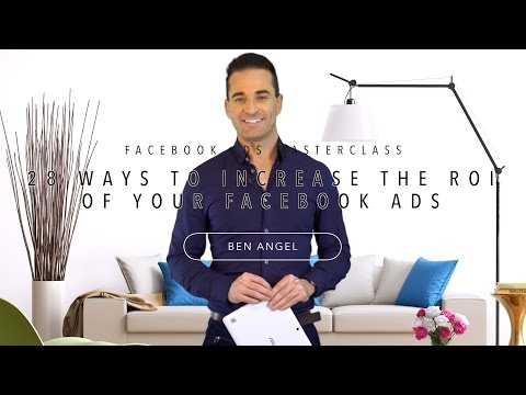 Facebook Ads Tutorial: Part One of Three in Masterclass Series 2015