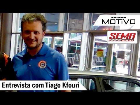 Entrevista no SEMA SHOW 2018 com Tiago Kfouri do canal Carro de Colecionadores - GOL GLR