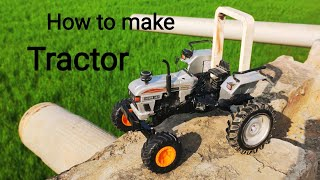 How to make RC Tractor at Home (EICHER tractor model)