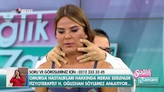 Fizyoterapist Hüseyin Oğuzhan Söylemez - Beyaz Tv Sağlık Zamanı 22.10.2016