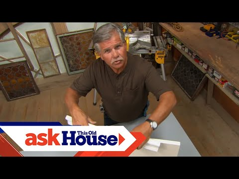 Ask Tommy Youtube How To Cut Crown Molding Angles