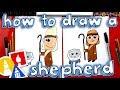 How To Draw A Shepherd - Nativity