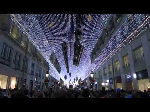 Bauhaus Weihnachtsbeleuchtung.Weihnachtsbeleuchtung Malaga 2016 Youtube