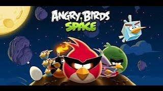 Мультик ИГРА для детей про энгри бердз уровни 1 2 Angry birds Злые птички энгри бердз против свинок