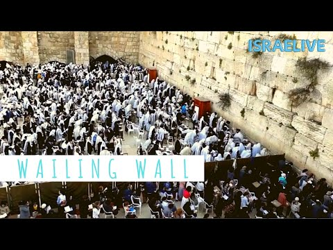 Tours In Israel - The Westen Wall In Jerusalem \\ The Wailing Wall -with Guide Michael