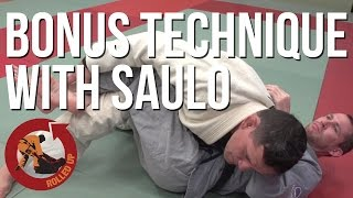 Rolled Up Episode 45 Bonus technique with Saulo Ribeiro - Half Guard Pass