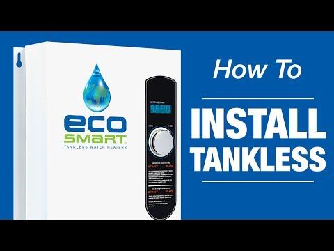 EcoSmart Tankless Water Heaters Installation