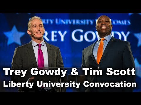 Trey Gowdy & Tim Scott - Liberty University Convocation