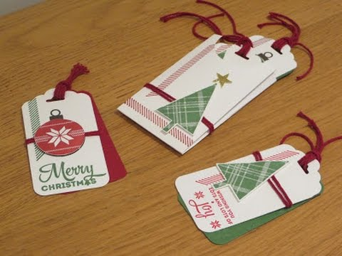 Gift Tag Set and Wallet Tutorial using Lots Of Joy by ...