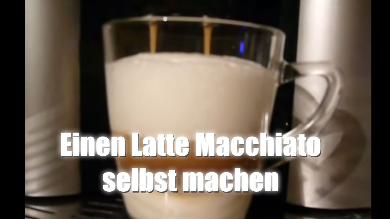 einen latte macchiato selbst machen youtube. Black Bedroom Furniture Sets. Home Design Ideas