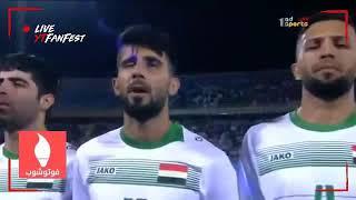 Iraque 0x4 Argentina amistoso 2018