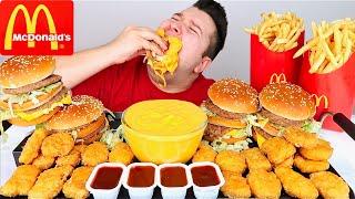 Extra Cheesy McDonald's • MUKBANG