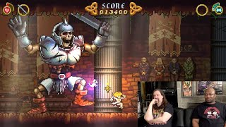 Battle Princess Madelyn w/ Reggie (SWITCH) - Ghosts 'n Goblins fans will love this!