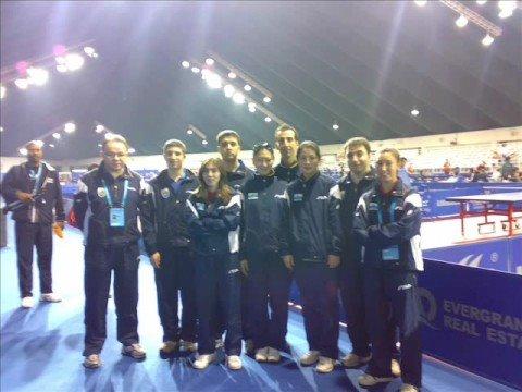 San Marino Table Tennis Team Ping Pong