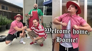 Welcoming Home Tio from Prison! -CHOLO COOKOUT