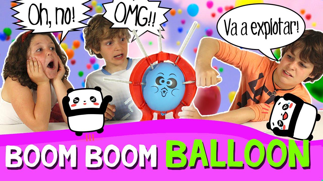 Boom Boom Balloon Challenge En Espanol Juegos Y Retos Para Ninos