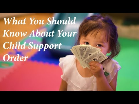 Your WA Child Support Order: What You Should Know