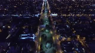Desde el aire: así se ve el atardecer de La Plata