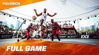USA vs Qatar - Full Game - Quarter-Final - 2016 FIBA 3x3 World Championships thumbnail