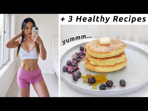 What i eat to get FIT | Prepping for New Workout Program | Healthy Recipes