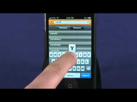 Dictionary & Thesaurus For IPhone Review