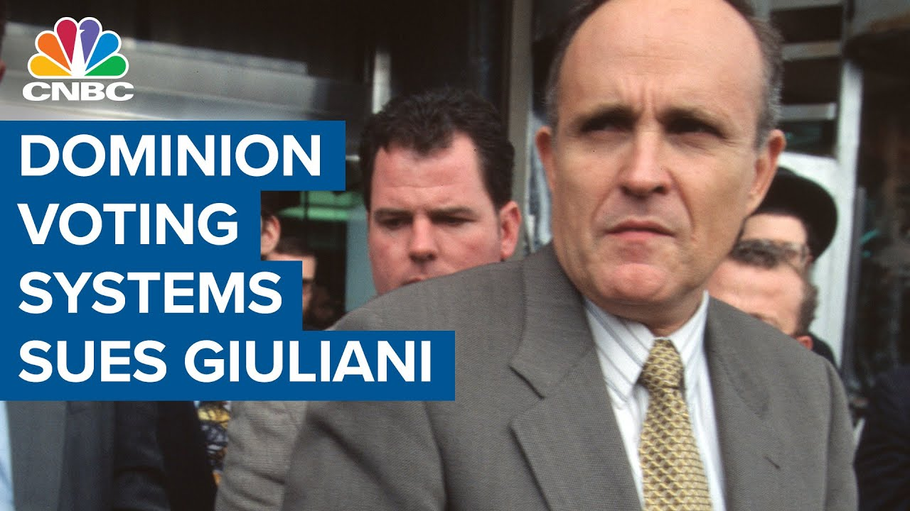 The Dominion CEO Says He Broke Down During Rudy Giuliani's ...