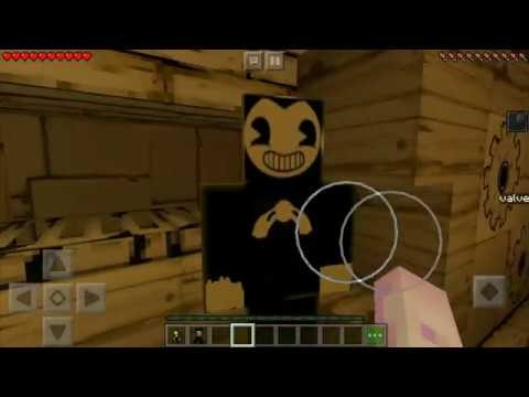 Minecraft PE Map - Bendy Game Horror 2 (Remastered)