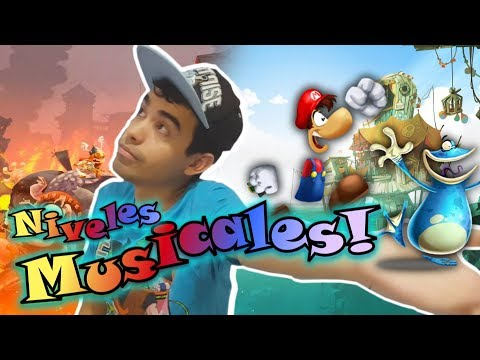 Niveles musicales WoW de Rayman Legends! -Music Levels //Diamond WoW