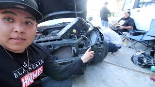WE FINALLY FIXED HIS GENESIS COUPE!!!