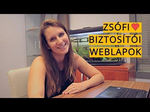 Zsófinak felment a vérnyomása a biztosítói weblapoktól