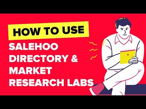 SaleHoo - Dropship & Wholesale Supplier Directory & Market Research Labs