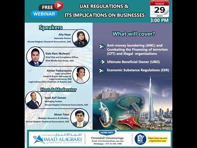 UAE REGULATIONS &  ITS IMPLICATIONS ON BUSINESSES