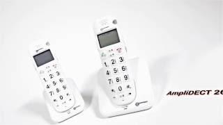 Produktvideo zu Schwerhörigen-Telefon Geemarc AmpliDECT 260 DUO